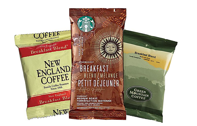 brewed coffee packets upper valley service provider